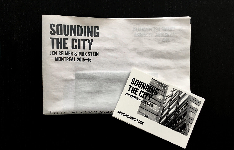 STC 001 Printed Materials — Jen Reimer & Max Stein