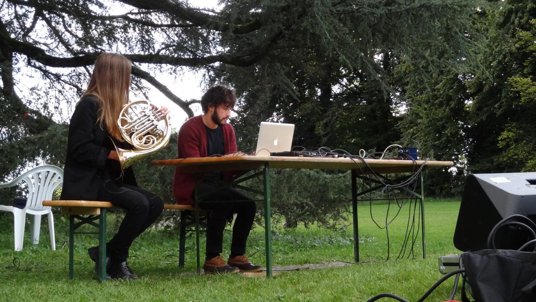 Lausanne: Performance at Les Digitales — Jen Reimer & Max Stein