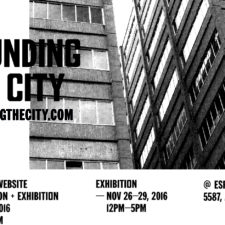 Sounding the City Launch of Website / Publication / Exhibition — Jen Reimer & Max Stein