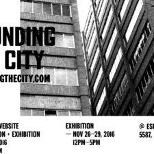 Sounding the City Launch of Website / Publication / Exhibition — Jen Reimer & Max Stein